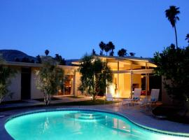 1964 Architecturally Significant Fairway Pool/Spa Luxury Retreat, Palm Springs