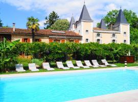 Hotel Logis - Chateau de Beauregard, Saint-Girons