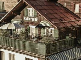 Almhütte & Skihütte Kohlerhaus, Stuben am Arlberg