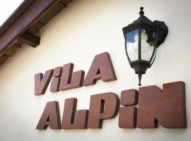 Villa Alpin, Beli Iskar
