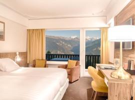 Hotel Restaurant le Mont Paisible Supérieur, Crans-Montana