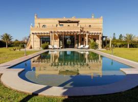 Squarebreak - Modern Villa with a Typical Moroccan Architecture, Aït Bou Nit