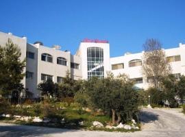 Rama de olivo del hotel, Jarash