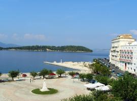Konstantinoupolis, Thị trấn Corfu