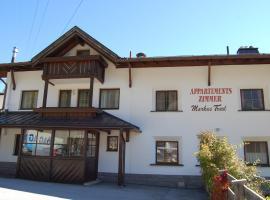 Appartements Traxl, Sankt Anton am Arlberg