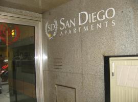 Apart San Diego Recoleta