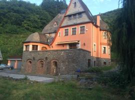Villa in der Aue, Burgen