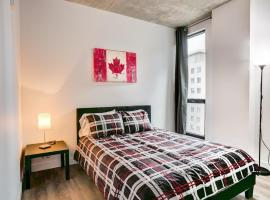 New Downtown Montreal View Condo