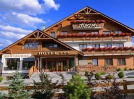 Hotel Alpejski, Polanica-Zdrój