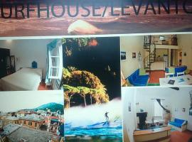 Surfhouse, Levantas