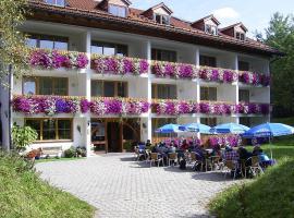 Hotel Pfeiffermühle, Wertach