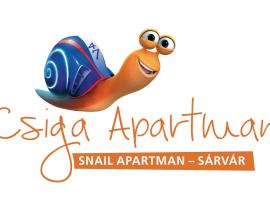 Csiga Apartment, Sárvár