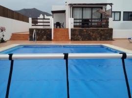 Villa Ruth, Playa Blanca