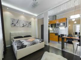 Apartments near underground station Avtovo