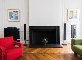 Luxury Design Champs Elysées Flat