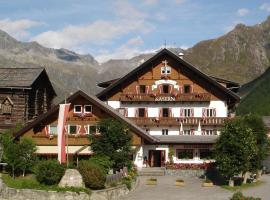 Berghotel Kasern und Tauernrast, Prettau