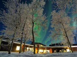Máttaráhkká Northern Light Lodge, Kiruna