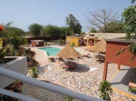 Hôtel Chez Reine Senegal, Mbodiène