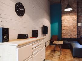 Mirons Apartment: Industrial, Krakov