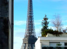 Balcony Eiffel Tower Apartment, パリ
