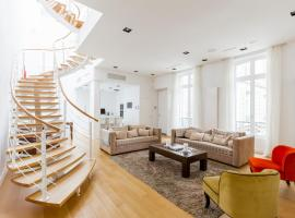 Luxury Loft Franklin Roosevelt, Pariz