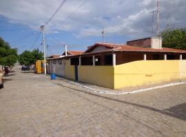 Casa Amarra Negra, Galinhos