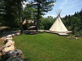 Ridgetop, Cabin at Sundance (Utah), with Forest View, Sundance