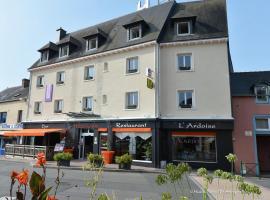 Logis Hôtel.com Restaurant l'Ardoise, Bédée