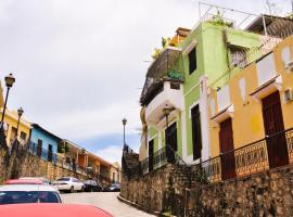 Colonial apartment with patio, Santo Domingo