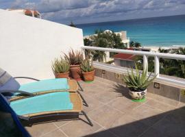 Cozy Sea View Penthouse, Cancún
