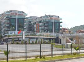 Konak Luxury Direct Beach Apartments, Kargicak
