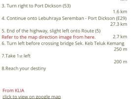 Port Dickson Semi-D, Kampong Tanah Merah