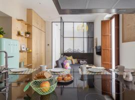 Apartamento VINTAGE con balcones