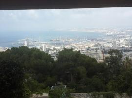 Luxurious View Studio Haifa, ハイファ