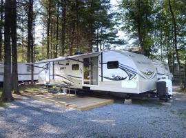 Lake George Escape 40 ft. Premium Travel Trailer 37, Warrensburg