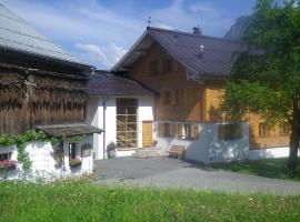 Ferienbauernhof Haus Berthold, Dalaas