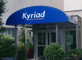 Kyriad Paris Nord Porte de St Ouen, Saint-Ouen