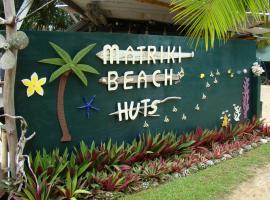 Matriki Beach Huts, Arutanga