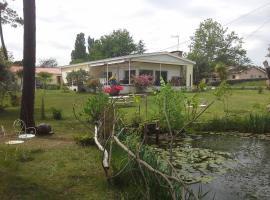 Maison l'Etang de l'Aiguille, Oeyreluy