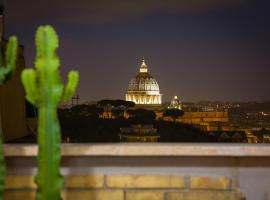 Vatican Terrace Apartments with View, Rome