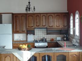Villa Eleni, Áfra