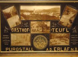 Gasthof Teufl, Purgstall