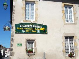 Maison du Procureur du Roy, Montmarault