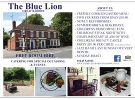 The Blue Lion, Great Baddow