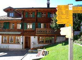 Apartment Rossinière 3, Rossinière