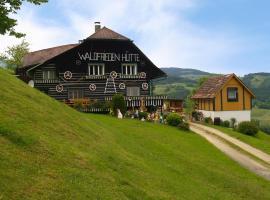 Waldfriedenhütte, Wolfsberg