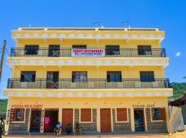 Saboti Hotel, Mbauini