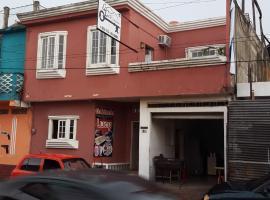 Hotel La Casa del Estudiante, Flores