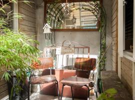 The Jordaan Patio apartments