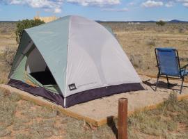 Greenleaf Canyon Campground, Valle